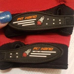 rocket Accessories - Rocket ball gloves soft leather palm Z216:6:619